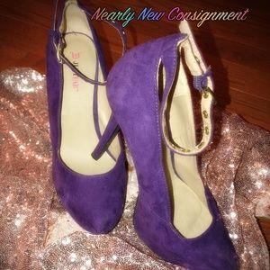 Nearly New Purple Heels!